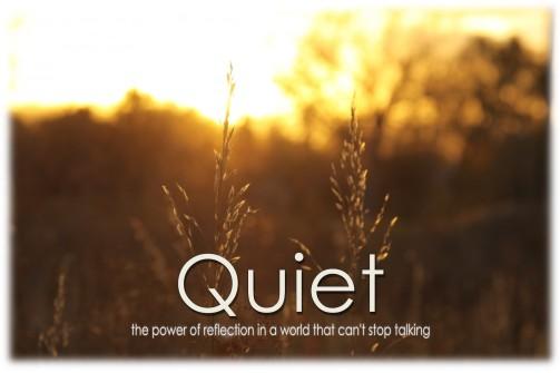 Quiet Display Graphic